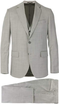 Versace houndstooth pattern suit