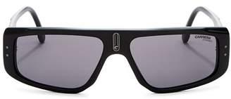Carrera Men's Flat Top Square Sunglasses, 56mm