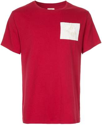 Kent & Curwen short sleeved patch T-shirt