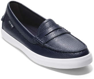 Cole Haan Nantucket Leather Penny Loafers Navy