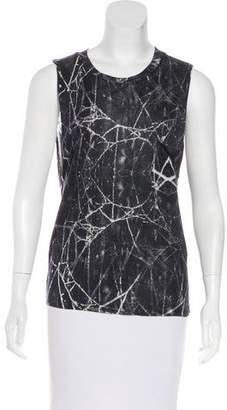 Haute Hippie Printed Sleeveless Top