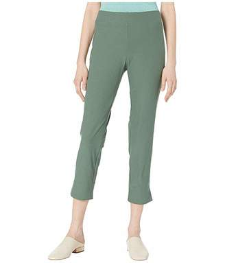 Eileen Fisher Washable Stretch Crepe Slim Cropped Pants