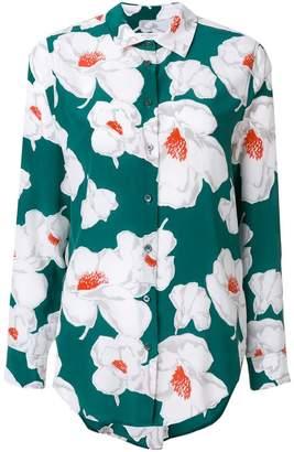 Equipment flower print shirt