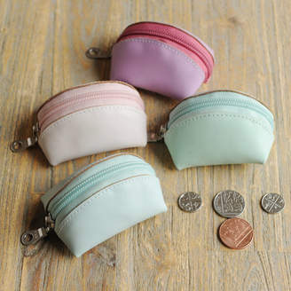 Undercover Leather Tiny Coin Purse