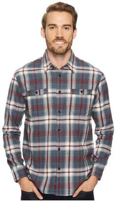 Quiksilver Waterman Raleigh Long Sleeve Flannel Shirt Men's Long Sleeve Button Up