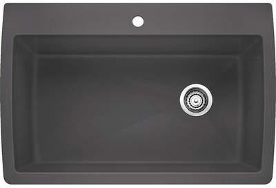 Blanco Lindsley 33.5 x 22 Super Single Bowl Drop-In Kitchen Sink