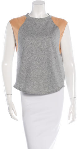 3.1 Phillip Lim 3.1 Phillip Lim Silk Accented Sleeveless Top w/ Tags