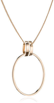 Vita Fede Cassio Open Circle Pendant Necklace