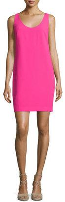 Trina Turk Sleeveless Crossover-Back Sheath Dress $258 thestylecure.com
