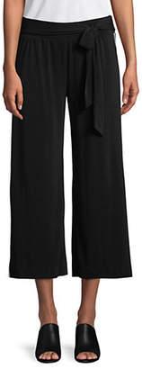 INC International Concepts Side Stripe Tie Waist Crop Pants