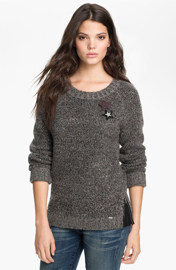 Maison Scotch Sequin Sweater