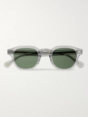 MOSCOT Lemtosh Round-Frame Acetate Sunglasses