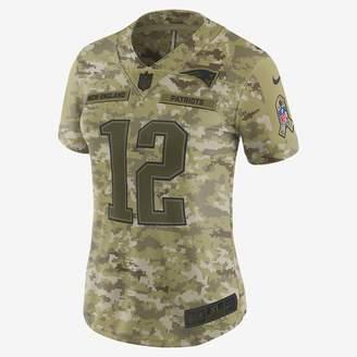 Nike NFL New England Patriots Limited Jersey (Tom Brady) Women's Football Jersey