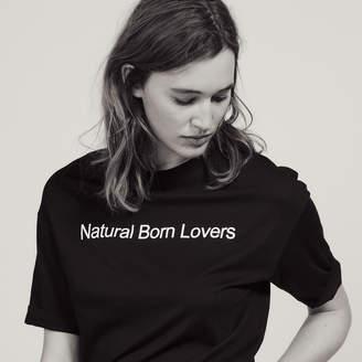 Sandro Oversized T-Shirt With Slogan