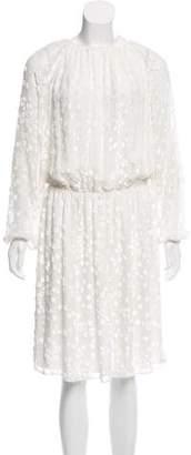 Co Long Sleeve Knee-Length Dress w/ Tags