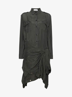 Faith Connexion Silk Double Shirt Dress
