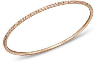 KC Designs Diamond Bangle in 14K Rose Gold