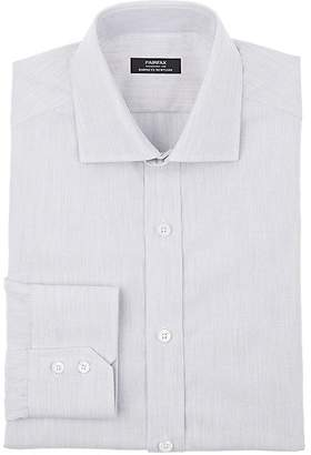 Fairfax Men's Mélange Cotton Oxford Cloth Dress Shirt