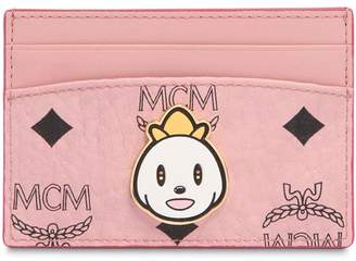 MCM Eddie King Printed Card Holder