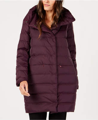 Eileen Fisher Recycled Nylon Cocoon Puffer Coat
