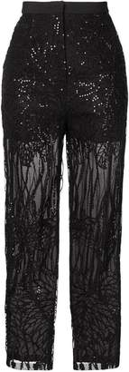 Elie Saab embroidered sequin trousers