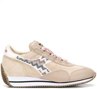 Diadora ribbon lace-up sneakers