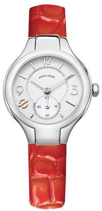 Philip Stein Teslar Women's Mini Classic Quartz Watch, 28mm