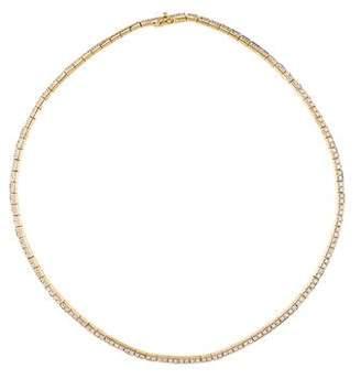 Anita Ko 18K Diamond Link Choker Necklace