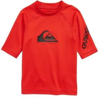 Quiksilver Logo Rashguard Shirt