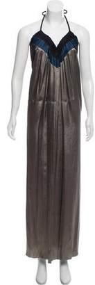Lanvin Halter Maxi Dress