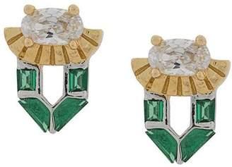 Freya V Jewellery stud earrings