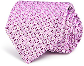 Canali Circle Medallion Classic Tie $160 thestylecure.com