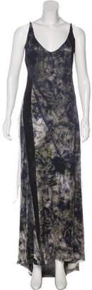 Nina Ricci Silk Maxi Dress w/ Tags