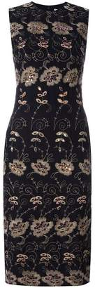 Givenchy floral embroidered shift dress