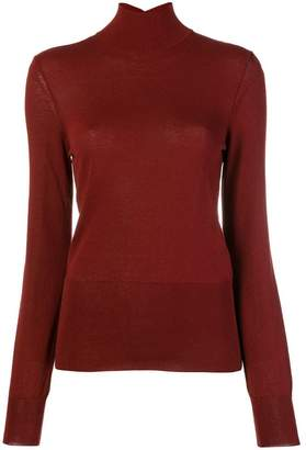 Jacquemus cut-out detailed knitted top