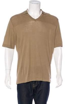 Hermes V-Neck Polo Shirt