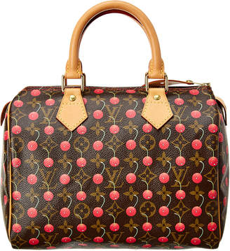 Louis Vuitton Limited Edition Takashi Murakami Cherry Blossom Monogram Canvas Speedy 25