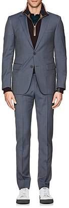 Lanvin Men's Attitude Micro-Checked Wool Two-Button Suit
