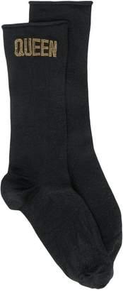 Dolce & Gabbana 'Queen' print socks