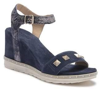 Khrio Studded Wedge Sandal