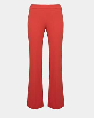 Theory Crepe Clean Flare Pant
