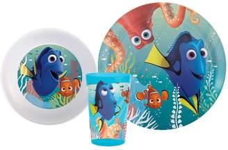 Zak Designs Disney / Pixar Finding Dory 3-pc. Kid's Dinnerware Set