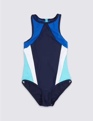 Marks and Spencer Swimsuit with Sun Safe UPF50+ (3-16 Years)