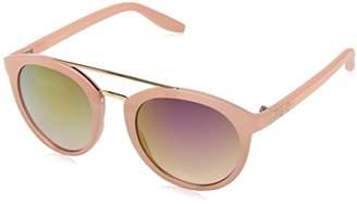 Jessica Simpson Women's J5354 RS Non-Polarized Iridium Round Sunglasses