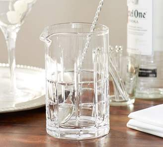 Pottery Barn Library Cocktail Pitcher