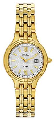 Seiko Quartz and Gold-Tone-Stainless-Steel Dress Watch
