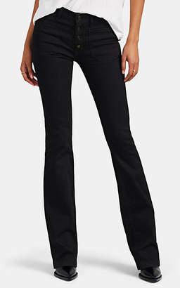 Saint Laurent Women's Flared Jeans - Black