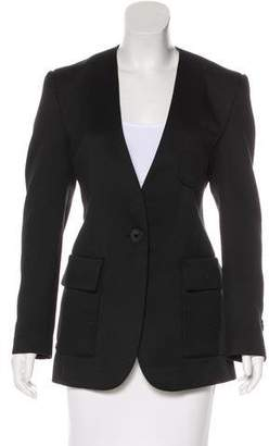 By Malene Birger Collarless Ribbed Blazer w/ Tags