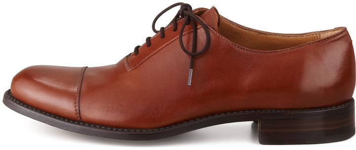 Gravati Leather Cap-Toe Oxford