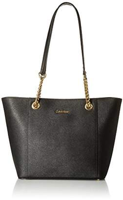 Calvin Klein Hayden Saffiano Leather East/West Tote